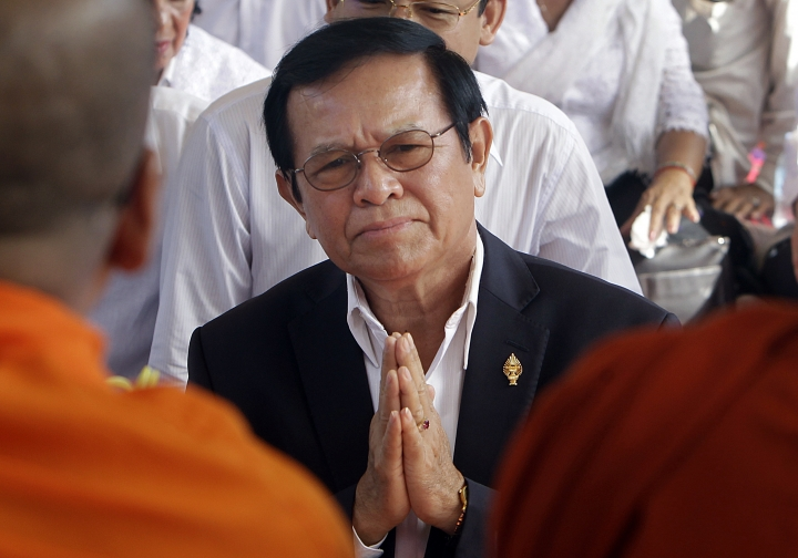 Cambodia's top court orders opposition party dissolved