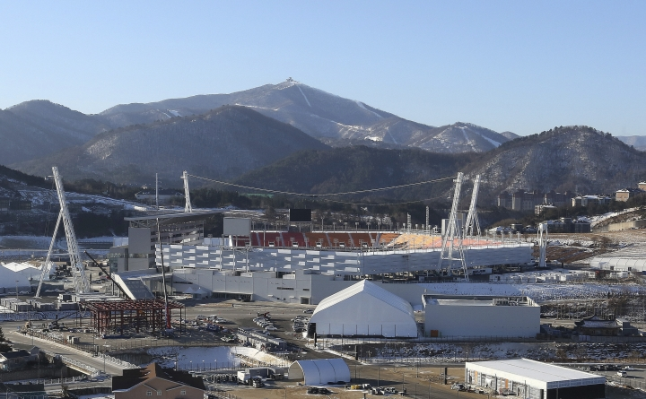 The cold returns for Winter Games in mountainous Pyeongchang
