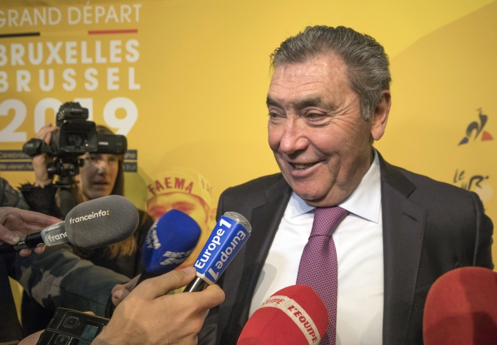 2019 Tour will honor 1st victory of 5-time champion Merckx