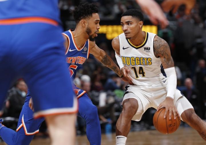 Harris scores 23 points, Nuggets beat Knicks 130-118