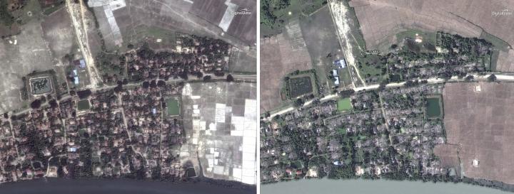 Myanmar government denies AP report of Rohingya mass graves