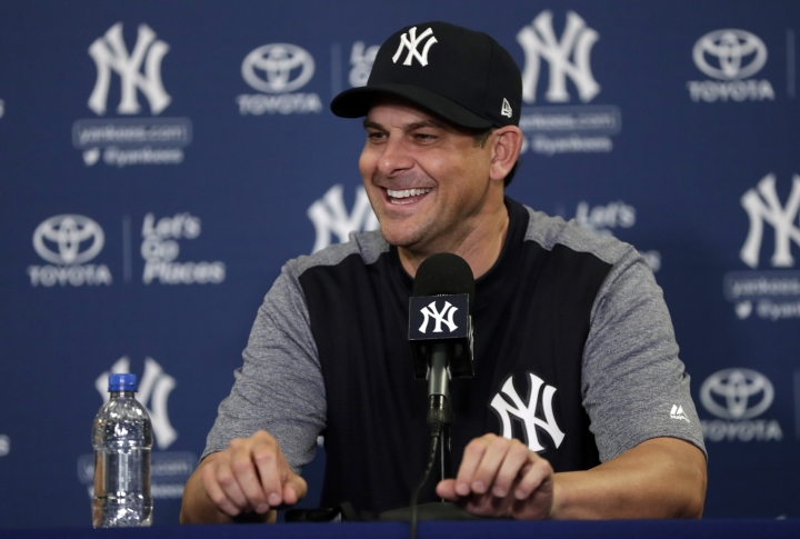 Boone embraces Yanks' expectations as spring training starts