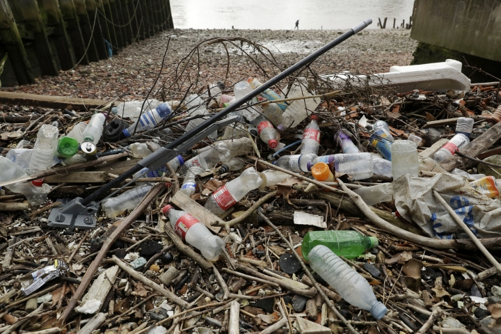 Amid a flood of plastic, big companies see opportunity
