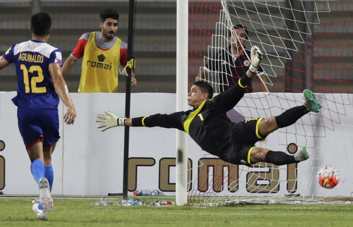 Etheridge and Philippines dreaming of English Premier League